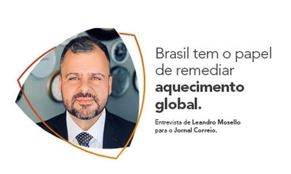 Brasil tem o papel de remediar aquecimento