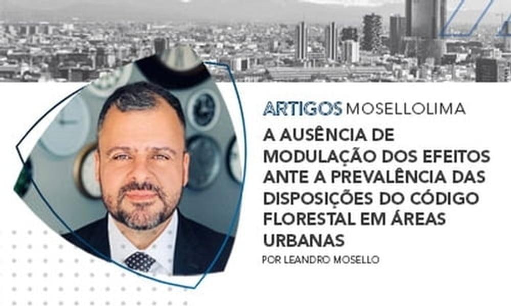 A ausência de modulação dos efeitos ante a prevalência das disposições do Código Florestal em áreas urbanas
