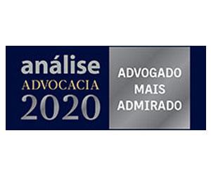 2020 - Advogado mais admirado